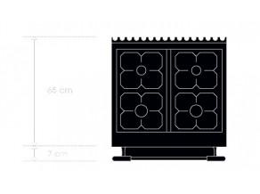 Dessus seul - Table de cuisson